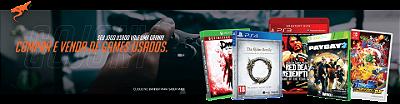 Compra e venda de jogos Usados