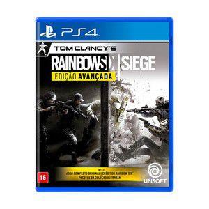 Tom Clancy´s Rainbow Six Siege - Edição Avançada - PS4