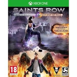 Saints Row IV Re-elected  Gat Out Of Hell - Xbox One
