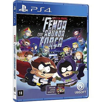 South Park A Fenda que Abunda a Força PS4 - Usado