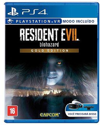 Resident Evil 7 biohazard Gold Edition PS4 - Usado