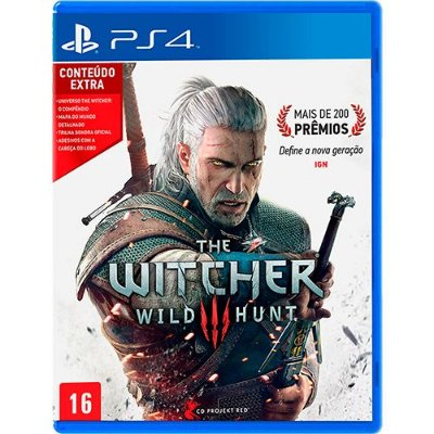 The Witcher 3 Wild Hunt PS4 - Usado