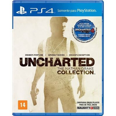 Uncharted The Nathan Drake Collection PS4 - Usado