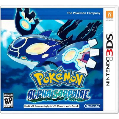 Pokémon Alpha Saphire - 3DS - Mídia Física Usado