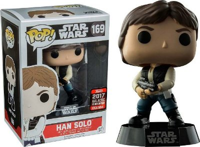 Funko Pop Star Wars Han Solo - 169 (Galactic Convention Exclusive)