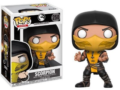 Funko Pop Games Mortal Kombat Scorpion x - 250