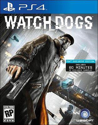Watch Dogs PS4 - Usado