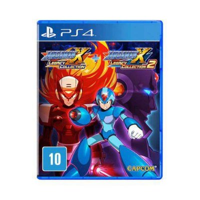 Megaman X Legacy Collection 1+2 PS4 - Usado