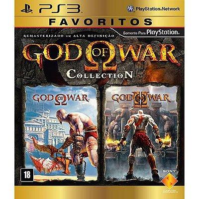 God Of War Collection - PS3 -Usado