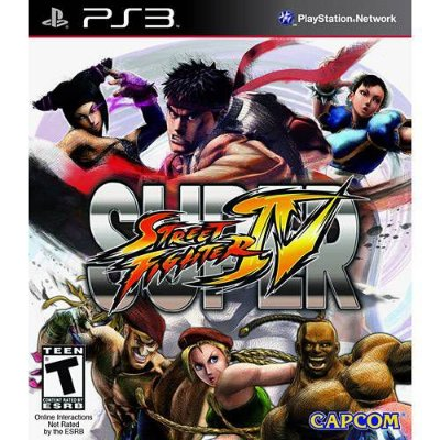 Super Street Fighter IV PS3 - Usado