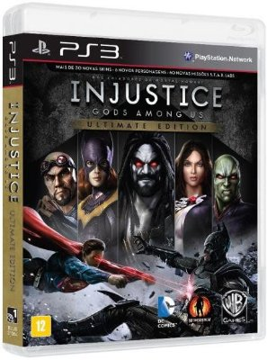 Injustice God's Among Us Ultimate Edition PS3 - Usado