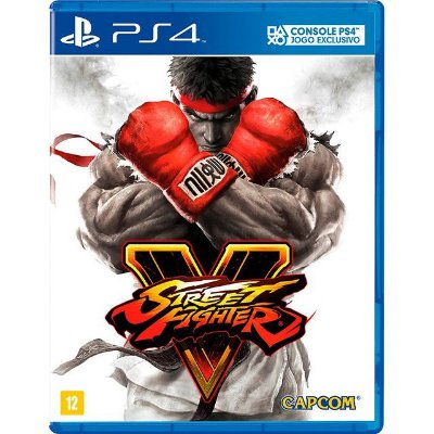 Street Fighter V PS4 - Usado