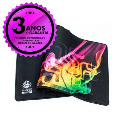 Mouse Pad Gamer Nemesis  015 0050 Control Macio Black Series