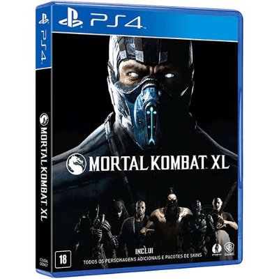 Mortal Kombat XL PS4 - Usado