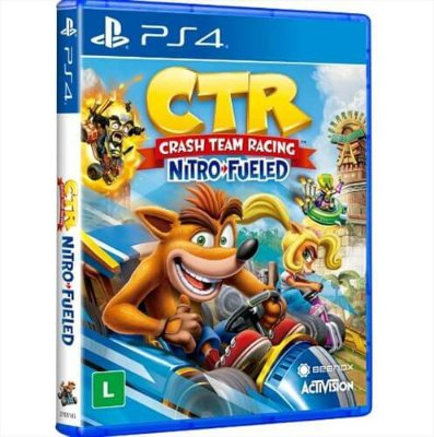 Crash Team Racing Nitro Fueled - Ps4