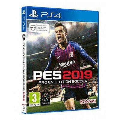 PES 2019 PS4 - Usado