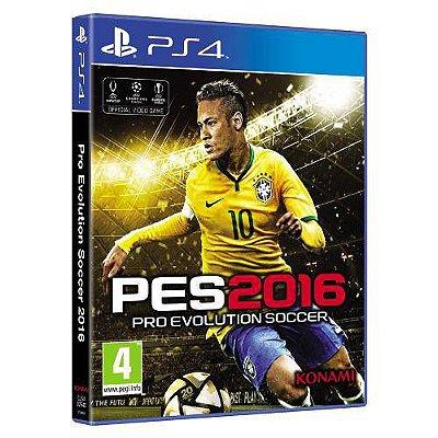 PES 2016 PS4 - Usado