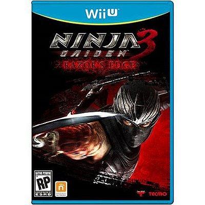 Ninja Gaiden 3 Razor's Edge Wii U - Usado