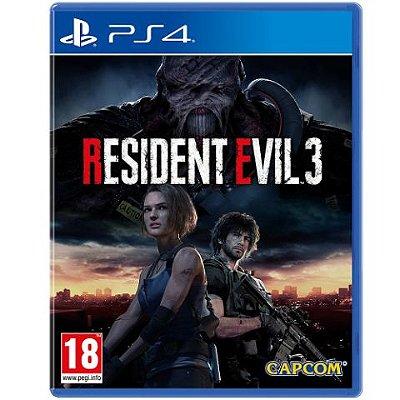 Resident Evil 3 - PS4 | Pré-venda