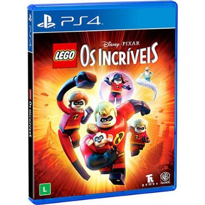 Lego Os Incriveis - Ps4