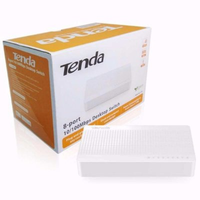 Switch Tenda 8 10/100 L2 Nao gerenciavel (S108) - GTIN: 6932849431056