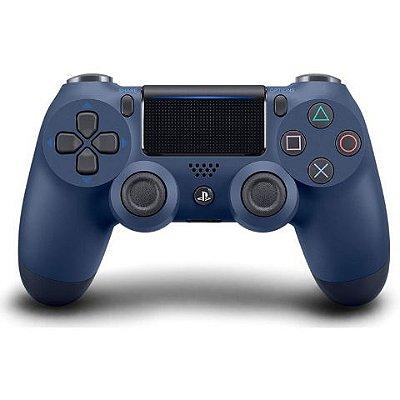 Controle PS4 - Azul Marinho