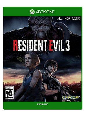 Resident Evil 3 Xbox One - Usado