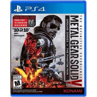 Metal Gear Solid V The Definitive Experience PS4 - Usado