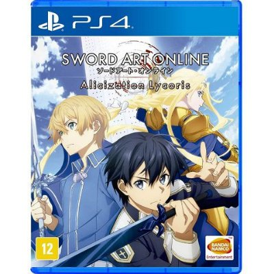 Sword Art Online Alicization Lycoris - PS4 - Usado