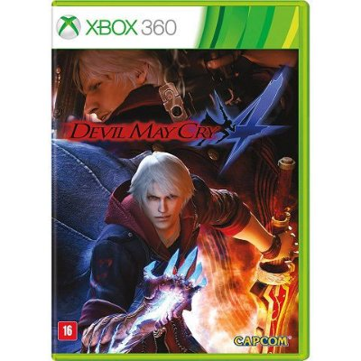 Devil May Cry 4 - Xbox 360 - Usado