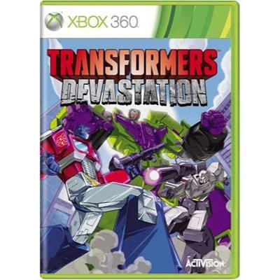 Transformers Devastation - Xbox 360 - Usado