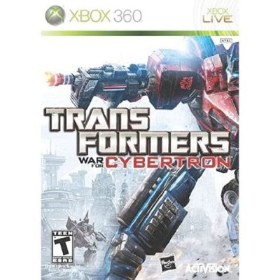 Transformers War for Cybertron - Xbox 360 - Usado