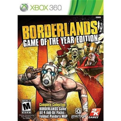Bordelands Game Of The Year Edition - Xbox 360 - Usado