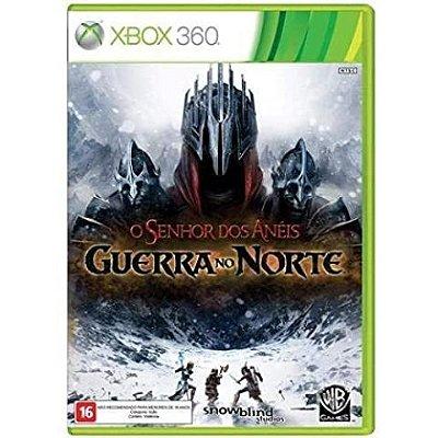 O Senhor dos Aneis Guerra no Norte - Xbox 360 - Usado