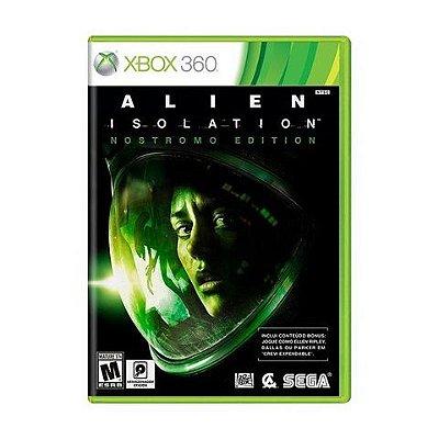 Alien Isolation Nostromo Edition - Xbox 360 - Usado