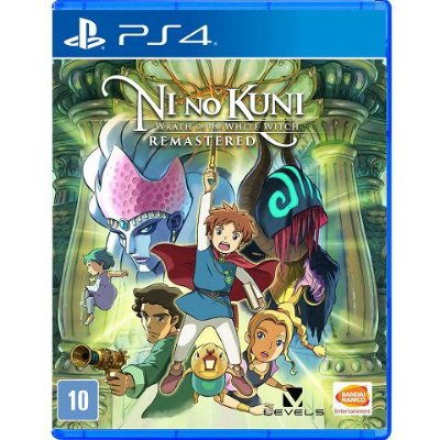 Ni No Kuni Wrath Of The White Witch Remastered - PS4 - Usado