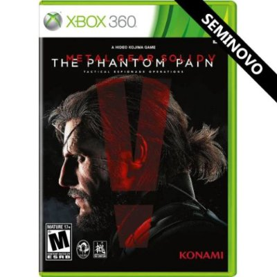 Metal Gear Rising Solid V The Phantom Pain - Xbox 360 - Usado