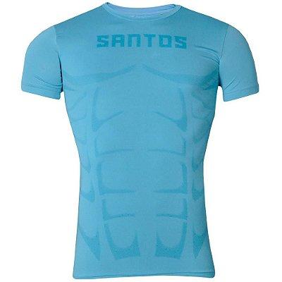 Camisa Santos Compressão Aquecimento 2016 Kappa
