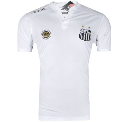 Camisa Santos Jogo I Torcedor 2016 Kappa