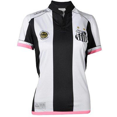 Camisa Santos Jogo II Feminina Official 2016 Kappa