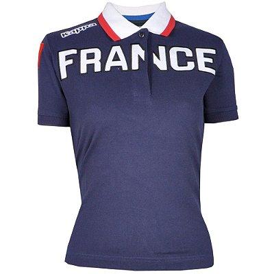 Camisa Polo Feminina France Kappa