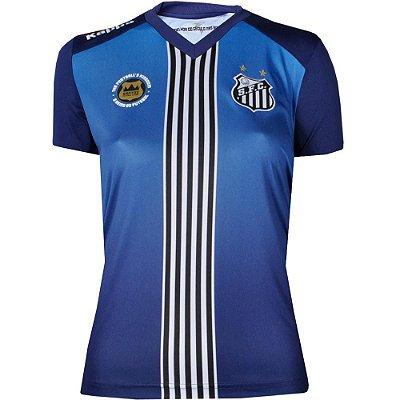 Camisa Santos III Torcedor Feminina 2016 Kappa