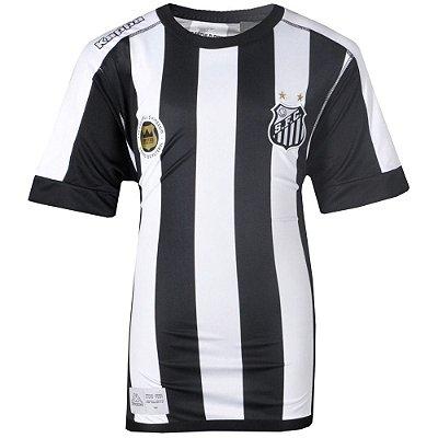 Camisa Santos Jogo II Torcedor Juvenil 2017 Kappa