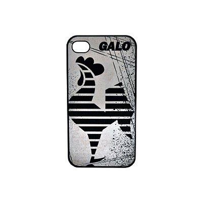 Capa Iphone 44S Galo Volpi Preto Atlético