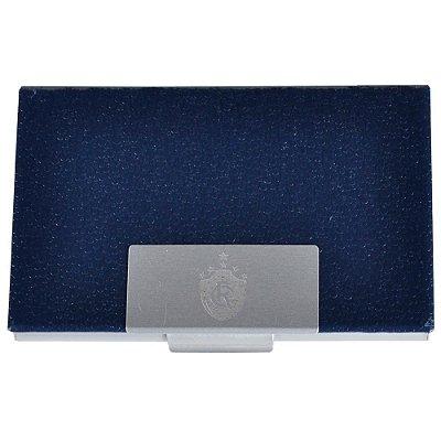 Porta Cartão Remo Couro Azul
