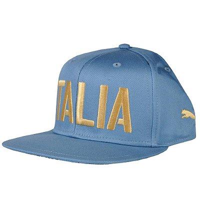 Cap Itália Figc Puma - Azul