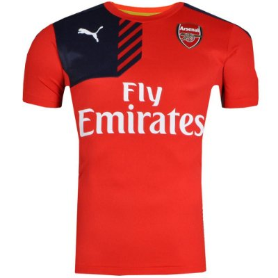 Camisa Arsenal Treino 2016 Puma Vermelho