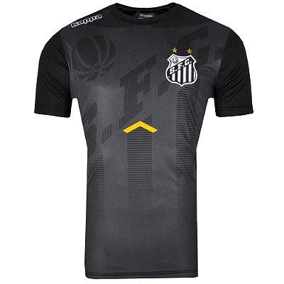 Camisa Santos Concentração 2017 Kappa