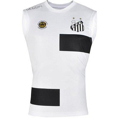 Camisa Santos Regata Treino 2017 Kappa