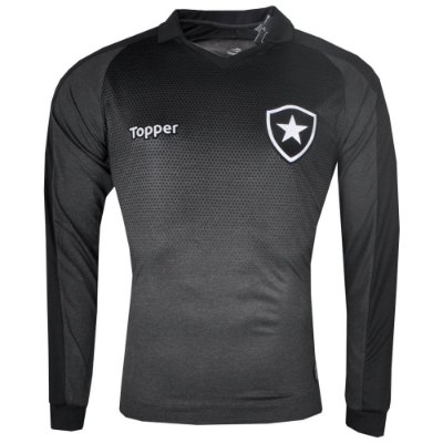 Camisa Botafogo Jogo II ML 2017 Topper